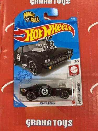 Rodger Dodger #73 Mattel Games 2//5 Magic 8 Ball 2021 Hot Wheels Case C