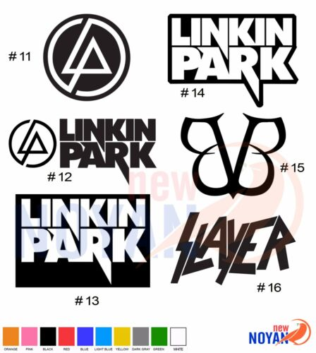 LINKIN PARK VINYL DIE CUT STICKER MUSIC ROCK BAND DECAL