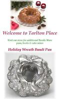 Nordicware 12 Holiday Wreath 10 Cup Bundt Cake Pan Heavy Cast Aluminum