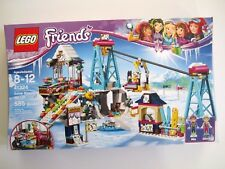LEGO Friends Snow Resort Ski Lift Ski Slope Slide 585 Piece Building Kit New
