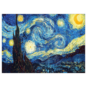 Van Gogh Starry Night Full Drill Diy 5d Diamond Painting Embroidery