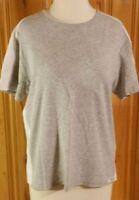 Womens Prospirit Ss Gray Shirt Size L/xl