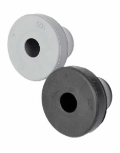 Kabeldurchführung Gummitülle Kabelverschraubung Kabeltülle M20 schwarz 50 Stück