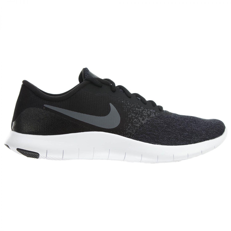 Nike Flex Contact Mens 908983-002 Black Grey Mesh Knit Running shoes Size 12