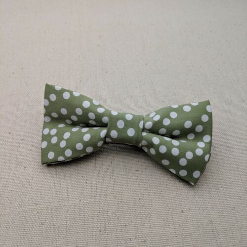 Men Bow Tie Children Bow Tie Sage Green Bow Tie for Kid Adjustable Strap