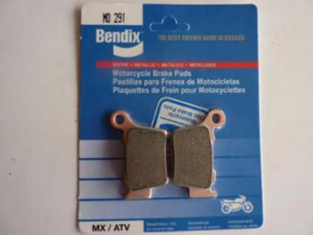 Pastilla de freno Bendix motorrad KTM 125 EXC 2004 MO291 Nuevo