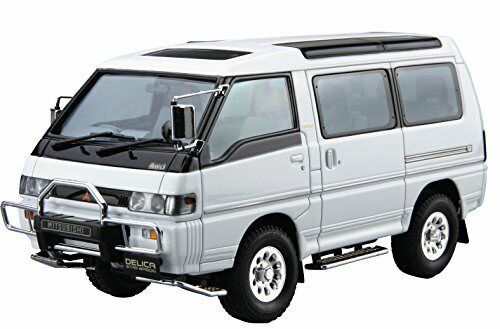 Aoshima 52334 The Model Car 27 Mitsubishi P35W Delica Star Wagon '91 1 24 scale