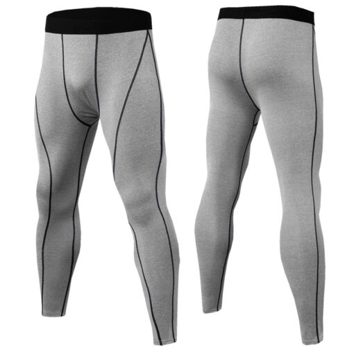 Men/'s Compression Pants Cool Dry Baselayer Tight fit Leggings Basketball Cycling