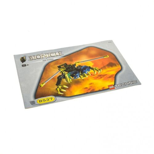 1x Lego Bionicle Technic Bauanleitung A5 für Set Nui-Rama 8537