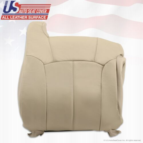 2000 2001 2002 Chevy Tahoe Suburban Replacement leather seat cover Light tan 522