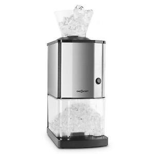 BROYEUR À GLACE 15KG/H ICEBREAKER PILEUR DE GLACE COCKTAIL BAR BOISSONS BAC 3,5L