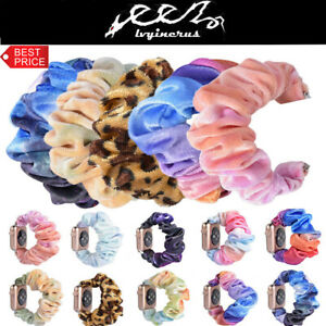 Scrunchie-Fashion-Loop-Band-Strap-For-Apple-Watch-iWatch-Series-5-4-3-2-1-New