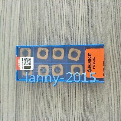 10PC New KORLOY CNC blade  SECA1204AFTN PC3500 SECA43AFTN