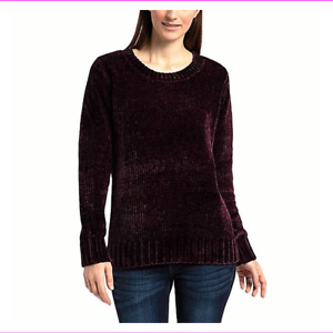 Orvis-Ladies-039-Chenille-Pullover-Sweater