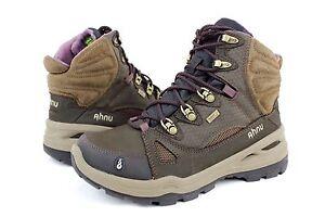 89f480a478e Ahnu Women's North Peak Hiking Boot Waterproof Smokey Brown Size 7 ...