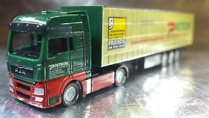 Herpa-066235-MAN-TGX-XXL-Curtain-Canvas-Semitrailer-Petschl-A-1-160-N-Scale