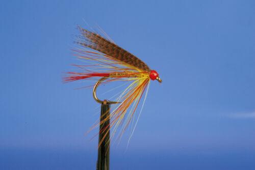 BANN VALLEY QUALITY IRISH TROUT FLIES MAYFLIES WET LOUGH FISHING X3