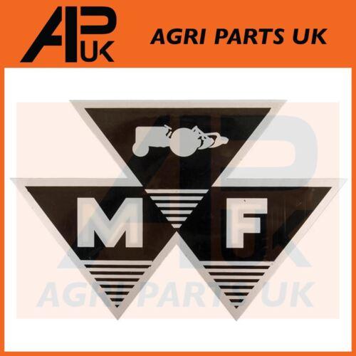 Massey Ferguson 135 148 165 175 178 Tractor Large nose cone bonnet Decal Sticker