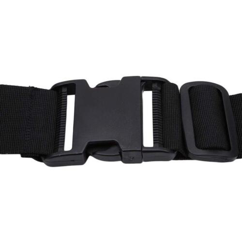 Fishing Waist Belt Fighting Rod Pole Holder Adjustable Waist Gimbal Belt ONE