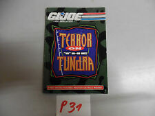 P31 gi joe  terror on the tundra foldder for ordering mail-ins usa us