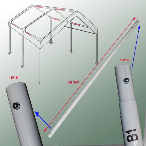 Cross Brace Pole 58 3/4  for 10x20 Caravan Canopy Domain Carport Garage Parts B1   eBay & Cross Brace Pole 58 3/4