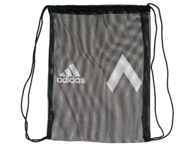 Adidas Ace 17 Drawstring Bag Black Mesh Backpack Training Shoe Sack