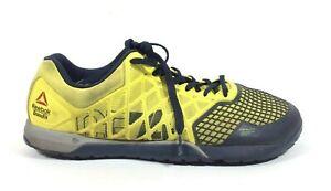 fd72d48a429f64 Reebok Men s CrossFit CF-74 Training Shoes Yellow Black Size 13