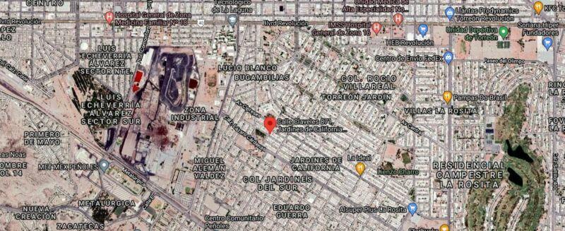 VENTA EXCELENTE OPORTUNIDAD JARDINES DE CALIFORNIA TORREON COAHUILA