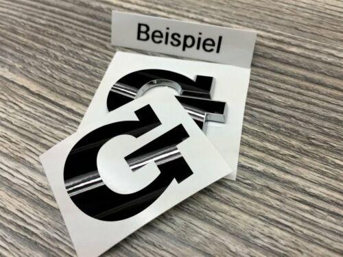Convient Pour 5 6 7 GTI Accessoires Tuning Lettrage Autocollant G Sticker Noir GL