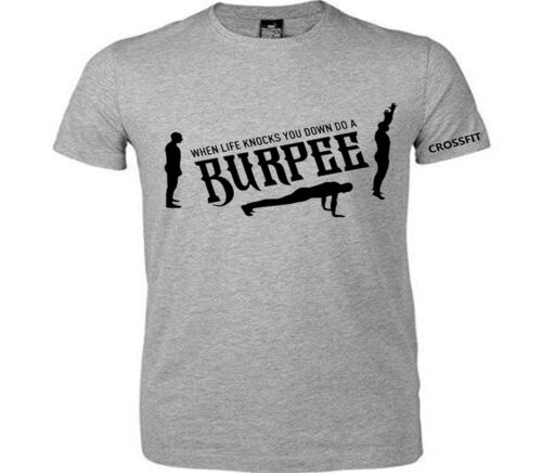 Burpee gym exercise muscle t shirt