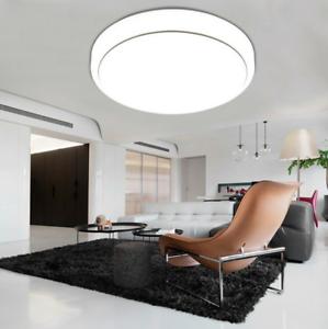 Panel-de-techo-LED-redonda-12W-40W-luz-hacia-Abajo-Luz-Empotrada-Bombilla-Lampara-Accesorio-Casa