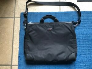 TUMI-T-Pass-Black-laptop-bag-with-Black-leather-trim
