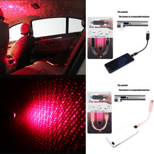 Flexible Mini  USB LED Night Light For Home Party Car Interior Atmosphere Lamp