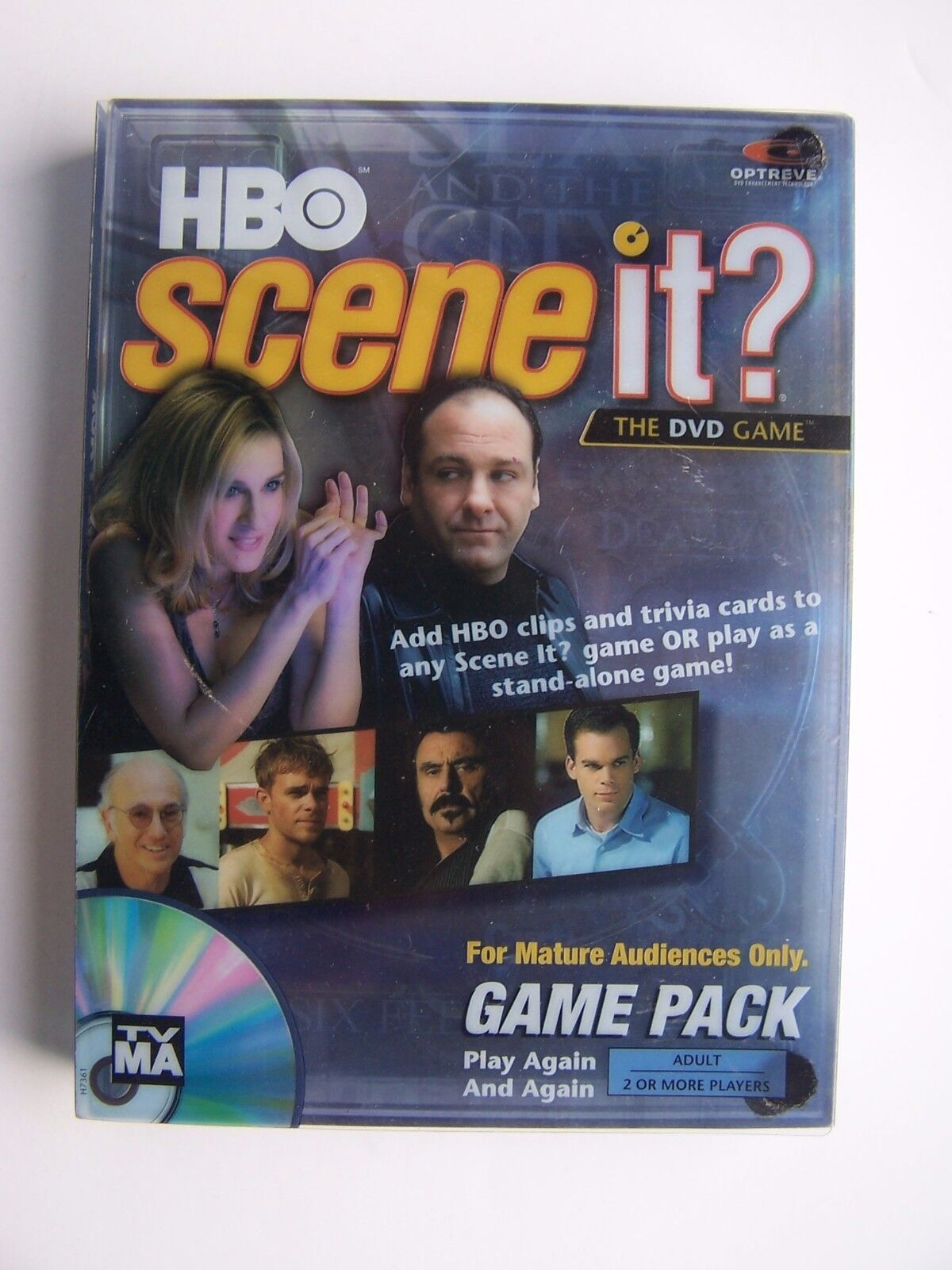 Scene It HBO Edition (Super Game Pack) (DVD / HD Video