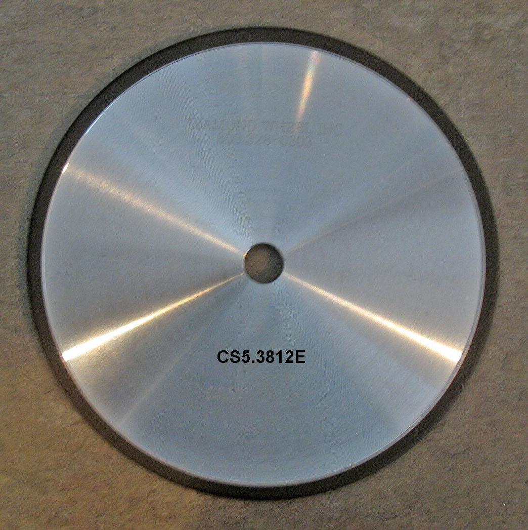 CBN Motosierra ruedas para 3 8, 5-3 4  y .404 cadenas de acero 12 mm Arbor Agujero de tono
