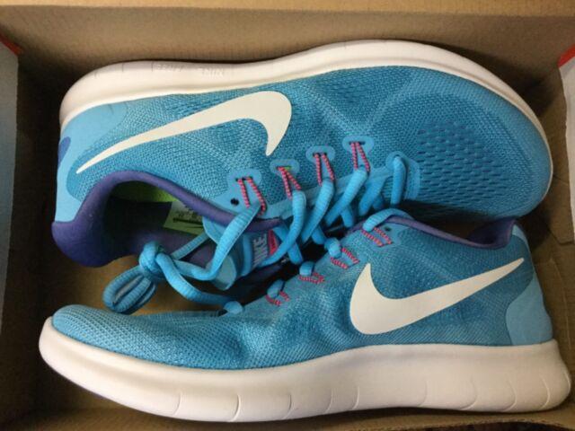 sale 94677 fb1bf Womens Nike RN 2017 Shoe Size 7 Blue White 880840 400