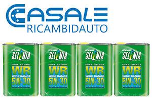 Olio-Motore-Selenia-WR-5W30-Wide-Range-ACEA-C2-4L-x-1LT-High-Performance-Ottimo