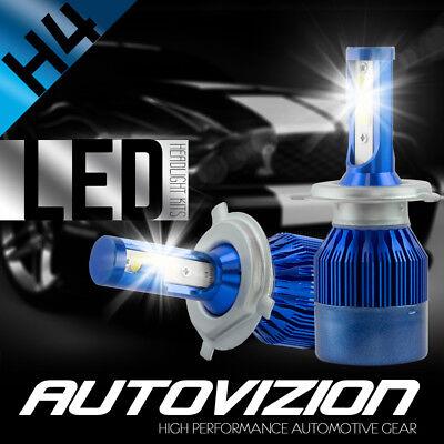 CREE 9003 H4 HB2 488W 48800LM LED Headlight Kit High Low Beam 6000K White Bulbs