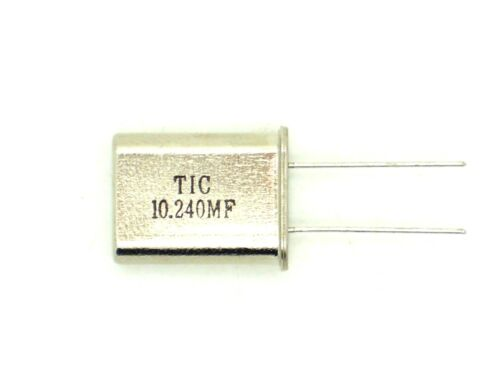 Q72 1x TIC Quarzoszillator 10.240MF MHz,Quarz,Schwingquarz,Schwing,Oszillator