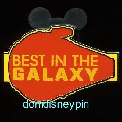 Millennium Falcon ! Disney Pin Parks *Star Wars* SOLO Set Best In The Galaxy