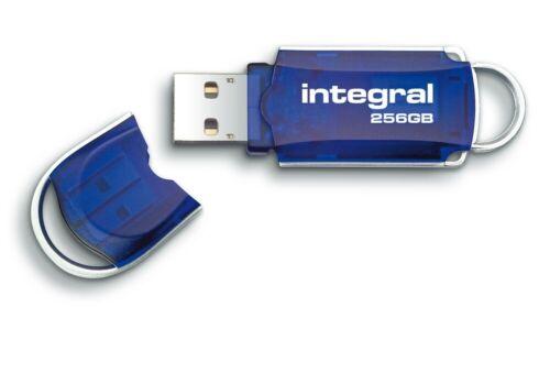 Blue 256GB Integral Courier USB2.0 Flash Drive