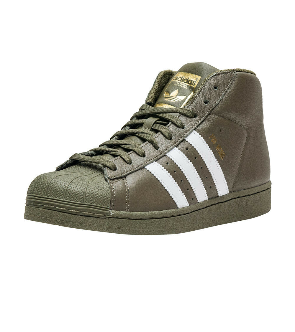 Brand New Men's Dark Green Adidas Pro Model Size 9.5 Very Nice!!!