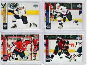 2006-07 Upper Deck Hockey Complete Series 1 Set 1-200 (NO YOUNG GUNS)