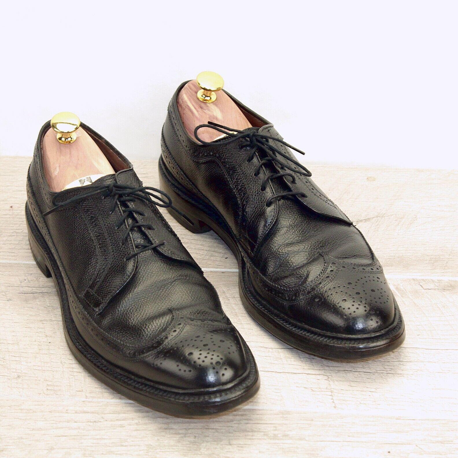 Allen Edmonds MACNEIL  10.5 A  Black   new AE Bags (add  15 new shoes Trees)