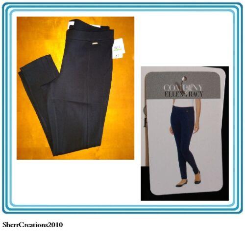 Pantaloni Tracy attillati legging neri Nwt da donna elasticizzati skinny Ellen n4Hw7