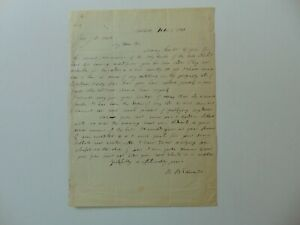 034-American-Education-Society-034-Bela-Bates-Edwards-Hand-Written-Letter-Dated-1848