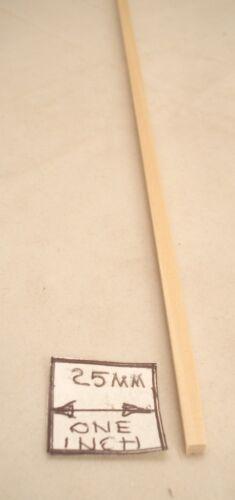 5mm x 5mm x 590mm Model Lumber basswood architect timber 2pcs craft MW