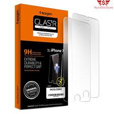 iPhone 7 Screen Protector Tempered Glass Slim 2 Pack Spigen 9h Hardness Apple