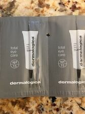 Dermalogica 16x Total Eye Care With SPF 15  NEW Fast Shipping