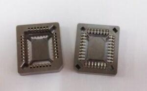 10pcs New PLCC32 32 Pin 32Pin SMD IC Socket Adapter PLCC Converter  UE